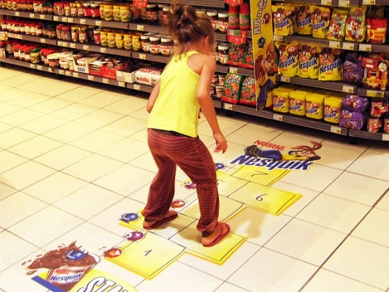 newquik hopscotch floor decal