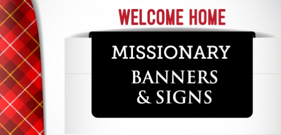 missionary banners and signs feature image