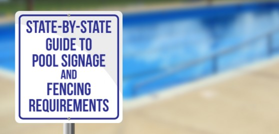 Swimming Pool Sign and Fence Laws Feature