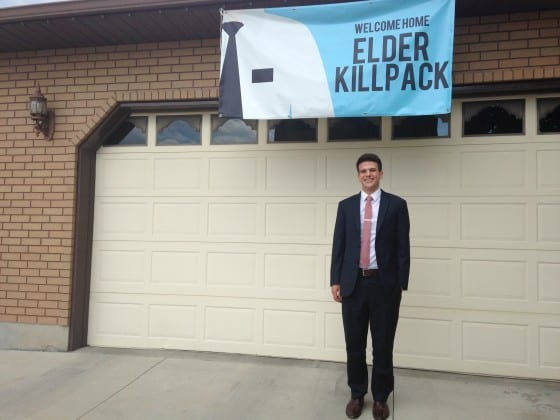lds missionary homecoming banner