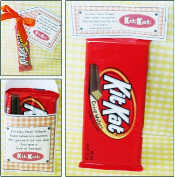 Kit Kat Care Package