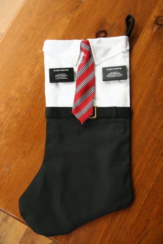 Missionary Christmas Stocking
