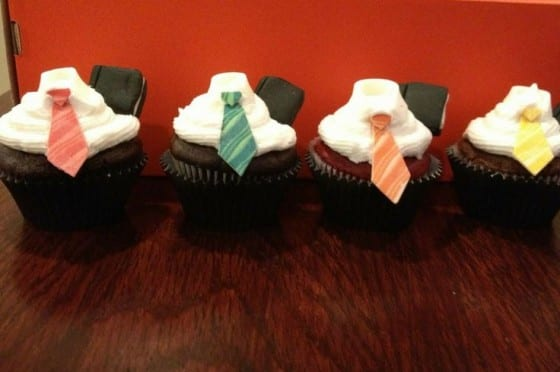 Missionary Cupcakes With Book of Mormon