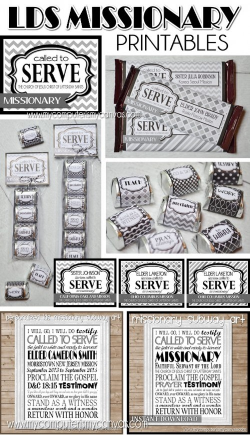 Missionary Goodie Wrappers