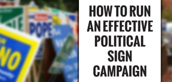 political signs templates for yard signs signs com