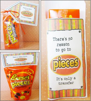 Reese's Pieces Care Package