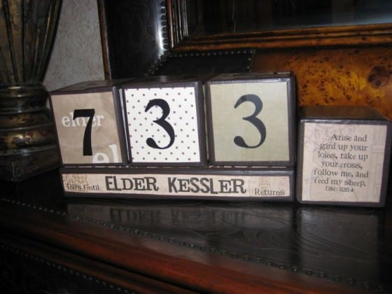 Wooden Blocks Countdown