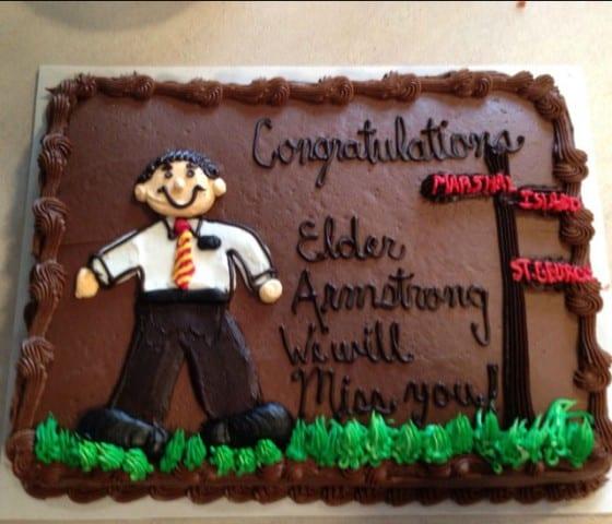 costco missionary cake