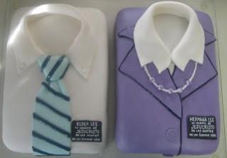 senior missionaries cake