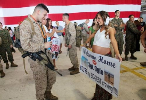 military welcome home gifts