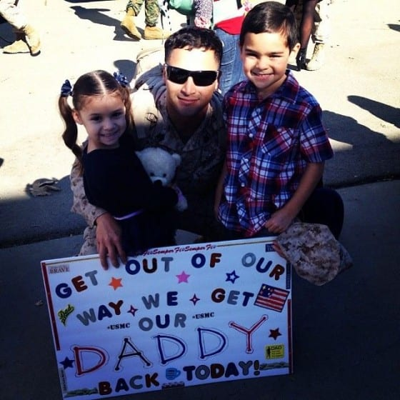 get our daddy back today sign