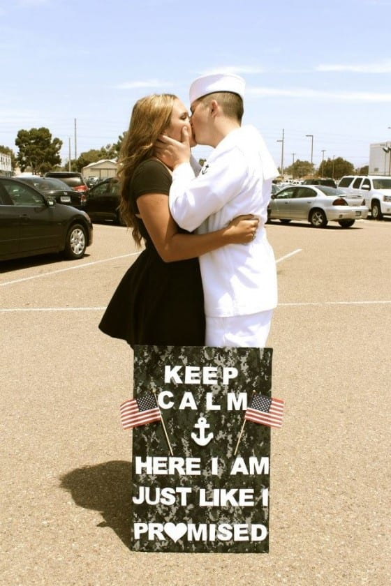 Welcome Home Signs Amp Ideas For Military Homecomings