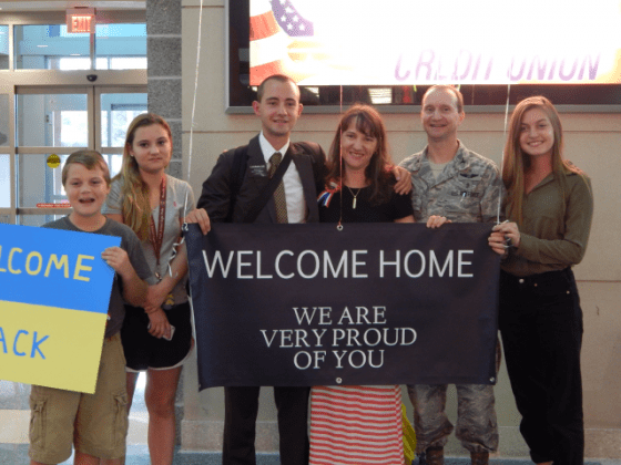 welcome home lds sign