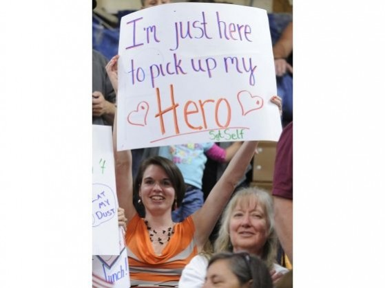 you're my hero sign for spouse