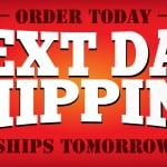 next day shipping feature