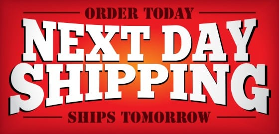 Signs Com Now Offers Next Day Shipping Signs Com Blog
