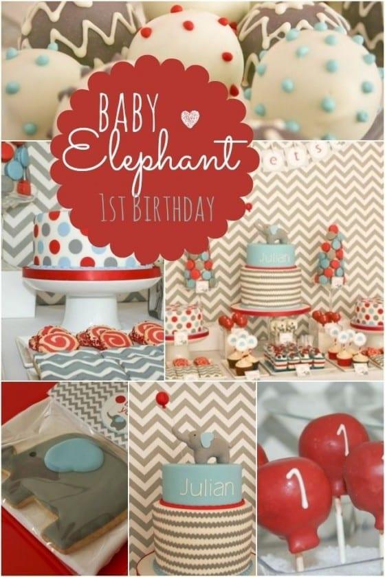 baby elephant theme
