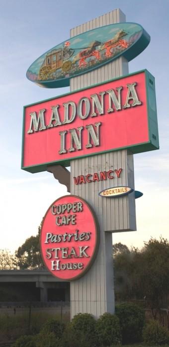Madonna Inn Iconic Sign