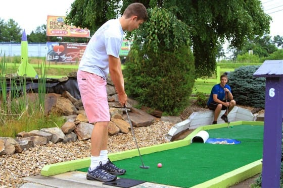 Mini Golf Putting