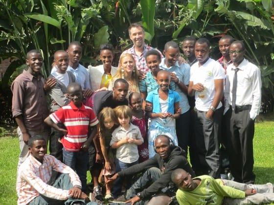 Munsons in Rwanda
