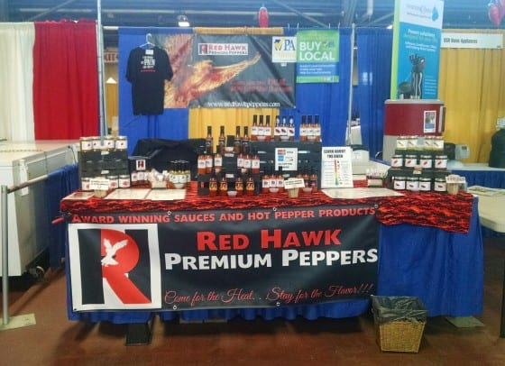 Red Hawk Premium Peppers Banner