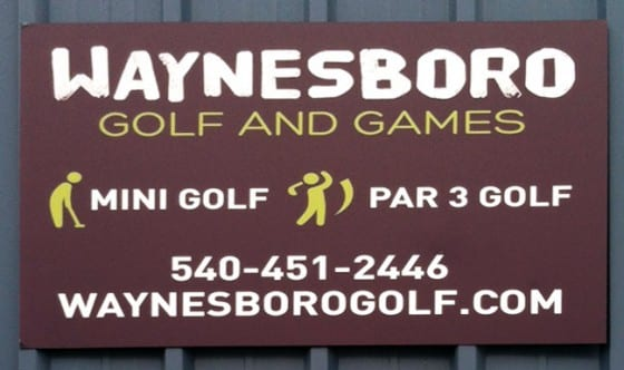 Waynesboro Golf Aluminum Sign