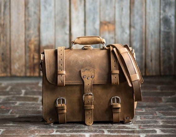 saddleback briefcase
