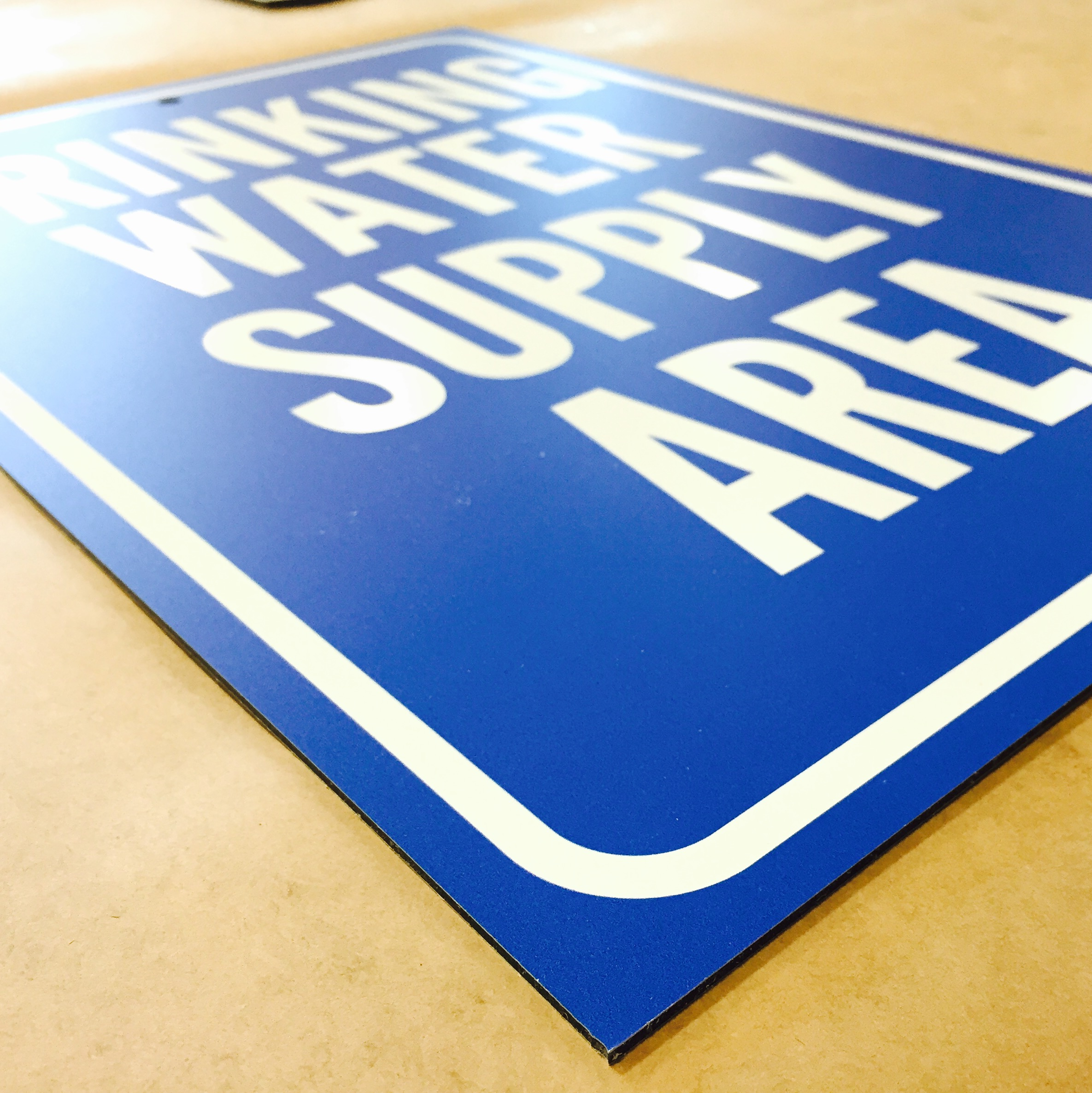 Standard Vs Brushed Aluminum Signage 101 Signs Com