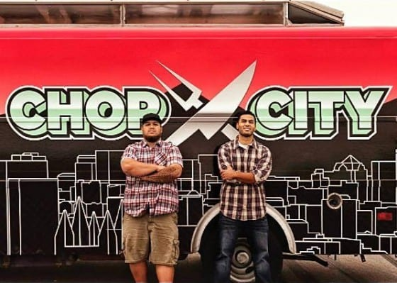 Chop City Food Truck Founders Simeona