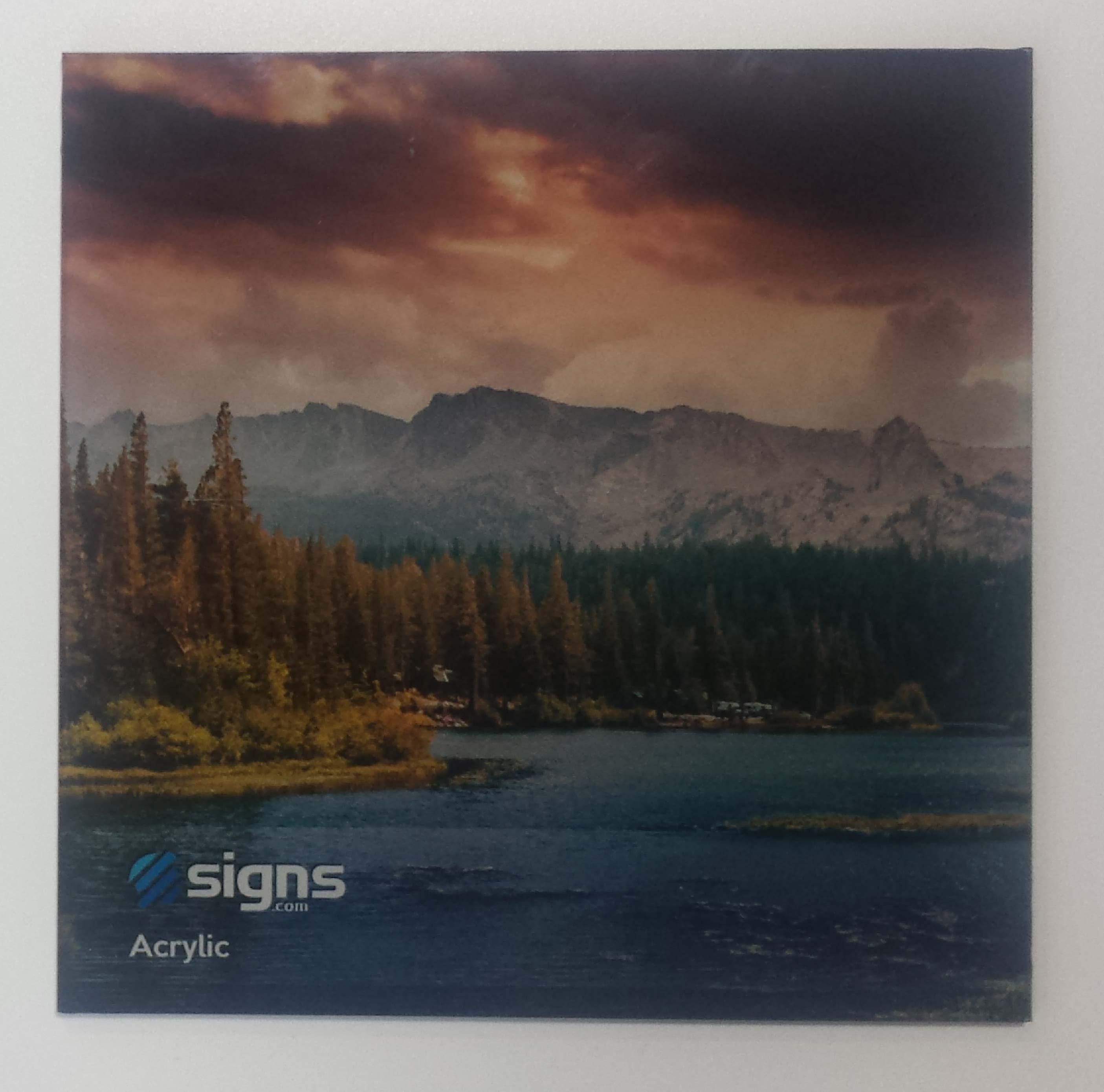 front side vs back side acrylic signage 101 signs com blog