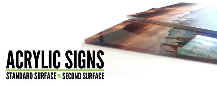 Standard vs Second Surface