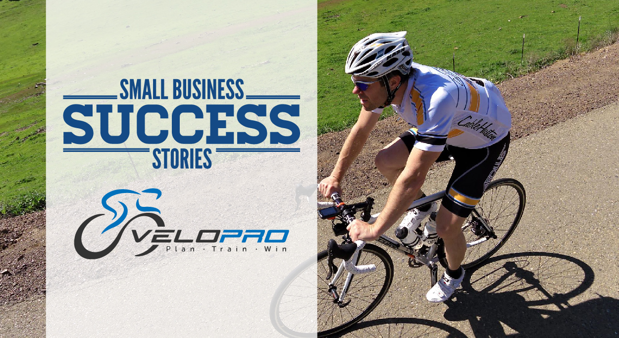 Small Business Success Story VeloPro Hero Image