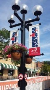 Ironman Pole Banners
