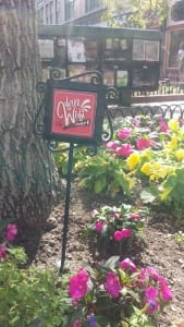Flower Bed Sign