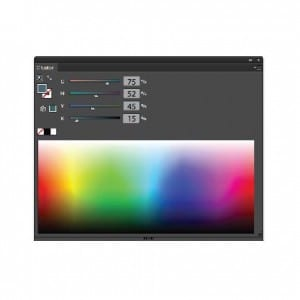 CMYK Color Slider