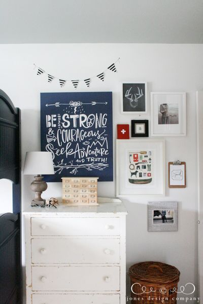 boys bedroom quote wall art