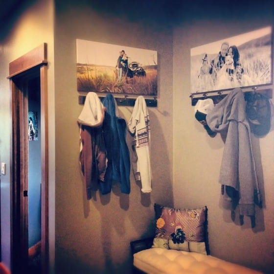 coat closet canvas prints