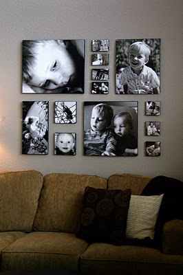 family wall display canvas prints