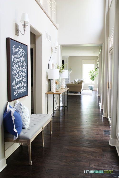 hallway canvas old home
