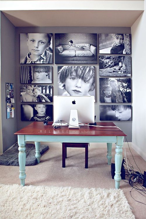 home office family prints