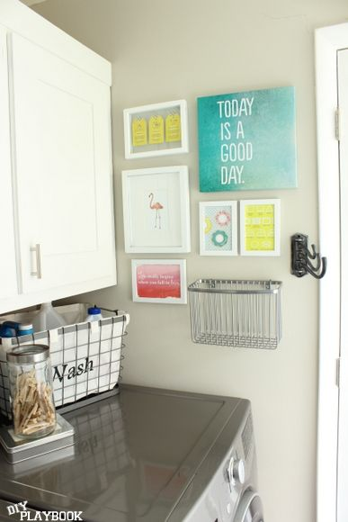laundry room canvas print