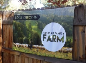 Family Farm Fabric Banner