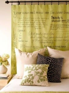 Curtain Headboard Fabric