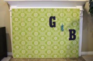 Lush Nest Fabric Banner