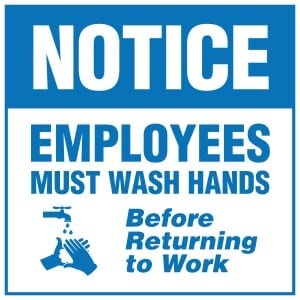 Handwashing Sign Laws For All 50 States Signs Com Blog