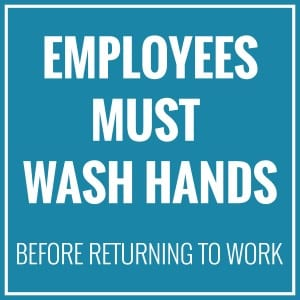 Generic handwashing sign 10