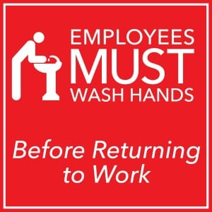 Generic handwashing sign 11