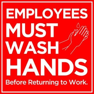 Generic handwashing sign 12
