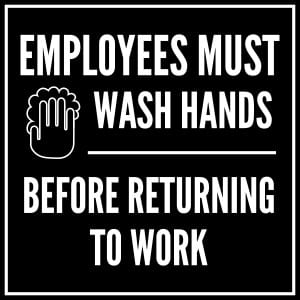 Generic handwashing sign 1