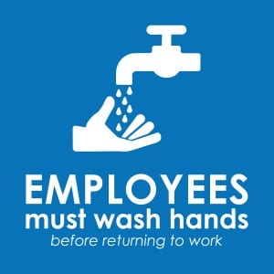 Generic handwashing sign 6